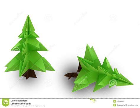 origami weihnachtsbaum stockbilder bild 26968584