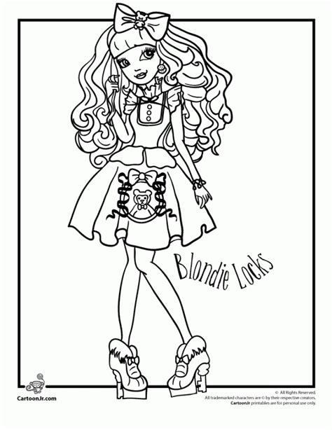 high coloring pages  girls ght