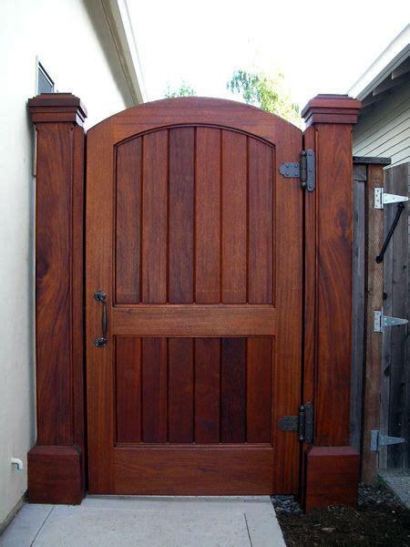 custom garden gate  backyard gates fence design backyard