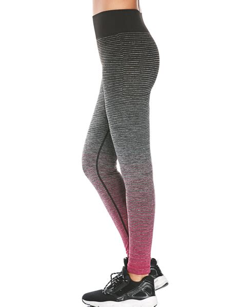Wholesale High Waist Ombre Printed Fitness Leggings From