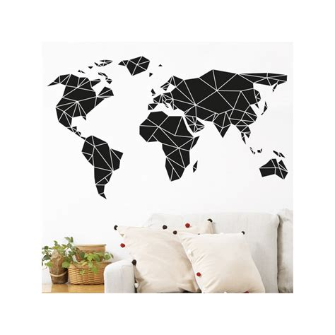 Pochoir Carte Du Monde by Map Wall Sticker India Silhouette Map Country Rest Of The