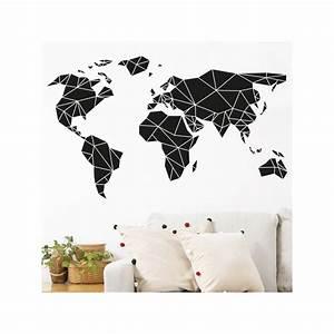 Carte Du Monde Deco Murale : carte du monde deco maison design ~ Dailycaller-alerts.com Idées de Décoration