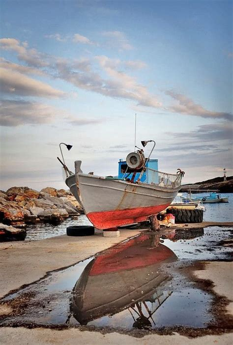 A Fishing Boat Is Anchored 9 Km by 417 Best Greek Boats Ships Images On Pinterest