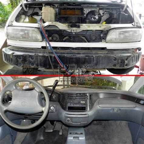 toyota previa tcr  full air cond service replacing
