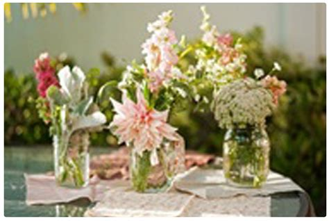 flowers in jars some inspirational style ideas using mason jars style ideas encore
