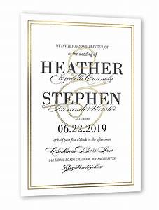 victorian splendor 5x7 wedding invitations shutterfly With wedding invitation sets shutterfly