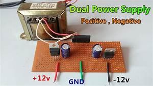 Dc   12v  12v  Gnd  Dual Power Supply
