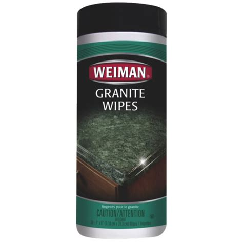 weiman granite cleaner wipes 54c cleaning supplies