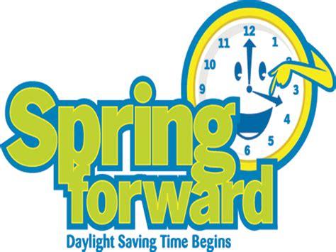 move clocks hour daylight saving time begins tomorrow