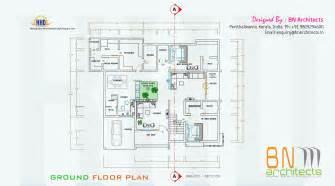 floor plan 3d views and interiors of 4 bedroom villa