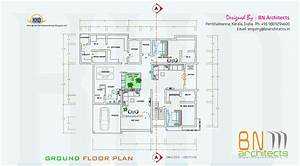 floor plan 3d views and interiors of 4 bedroom villa With house interior design ground floor