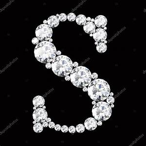 S Letter made from diamonds — Stock Vector © Boykung #67837849