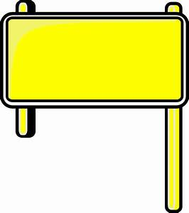 Highway Sign Blank Clip Art at Clker.com - vector clip art ...