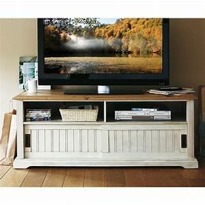 Meuble Tv Ecran Plat : meuble tv pour ecran plat maison design ~ Teatrodelosmanantiales.com Idées de Décoration
