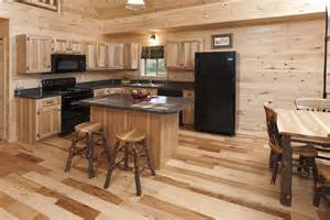 kitchen island kits log cabin kitchens with modern and rustic style