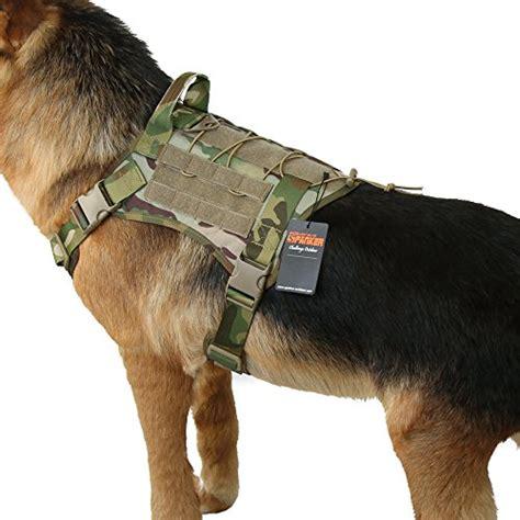 excellent elite spanker tactical service dog vest training