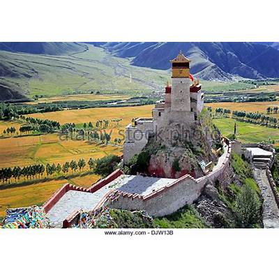 Brahmaputra Tibet Stock Photos &