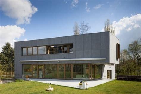 Maison Contemporaine Passive Par Hasa Architecten