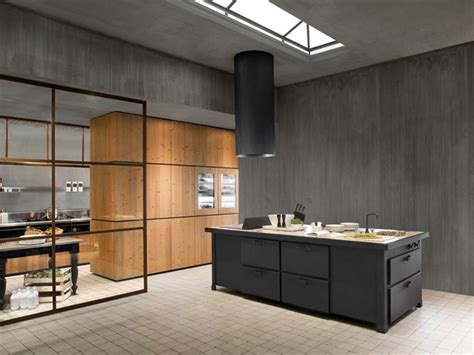 cuisine style industrielle cuisine industrielle minacciolo suit la tendance inspiration cuisine
