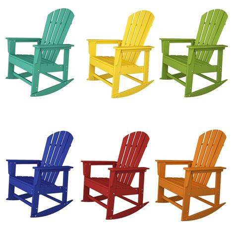 Polywood South Adirondack Rocking Chair by Polywood South Rocking Chair Adirondack Rocking