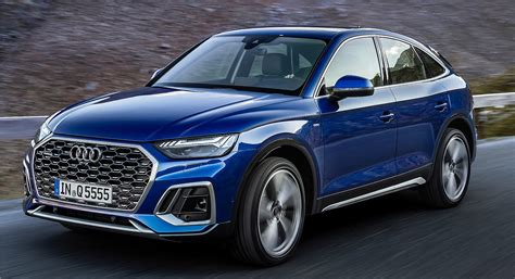 The new 2021 Audi Q5 Sportback coupe SUV | Spare Wheel