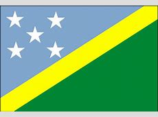 CIA The World Factbook 2002 Flag of Solomon Islands