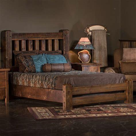 sawmill reclaimed barnwood bed  tim scott jhes
