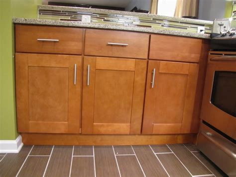 Shaker Cabinet Hardware Placement by Autumn Shaker Kitchen Cabinets Modern By Rta Cabinet Store