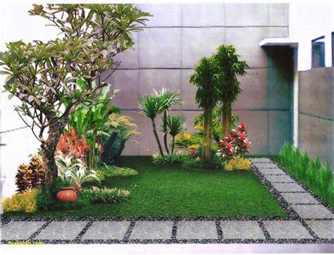 desain taman depan rumah minimalis lahan terbatas