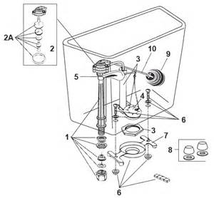Eljer Toilet Tank Replacement Parts