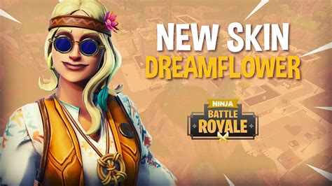 dreamflower skin fortnite battle royale gameplay