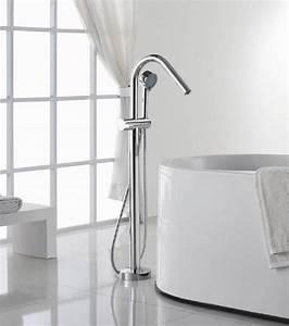 Mitigeur Sur Baignoire : les robinets mitigeurs pour baignoire ilot baignoire ilot ~ Edinachiropracticcenter.com Idées de Décoration