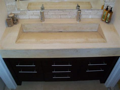 bathroom countertops with sinks built in 25 best ideas about concrete countertops bathroom on