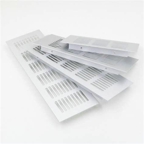 ventilation grilles for cabinets 5pcs lot 200 80mm aluminum air vent ventilator grille for closet shoe cabinet in hvac systems