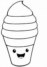 Kawaii Dibujos Colorear Ausmalbilder Desenhos Desenhar Squishy Colorir Coloring Imprimir Dibujo Grandes Eis Caracteres Grande Desenho Faceis Comidas Raskrasil Inusuales sketch template