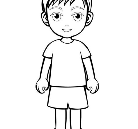 boy cartoon drawing  getdrawings