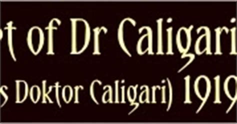 cabinet of doctor caligari summary the s manor the cabinet of dr caligari das