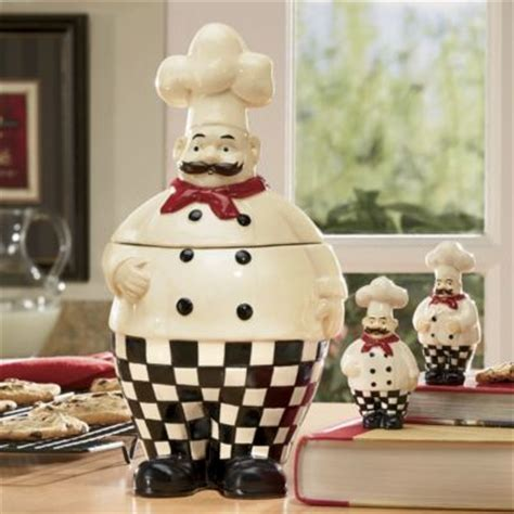 Cookie Jar   salt & pepper shakers   ~ Bon Appetit