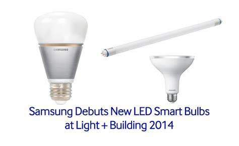 samsung debuts new led smart bulbs at light building