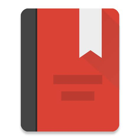 red diary electronic blank book notebook