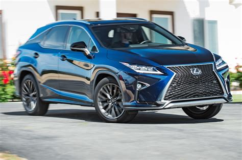 lexus rx 2016 f sport 2016 lexus rx 350 f sport first test review best seat in