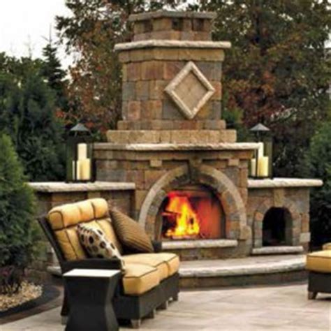 unilock fireplace kits price outdoor living units archives ground effects inc