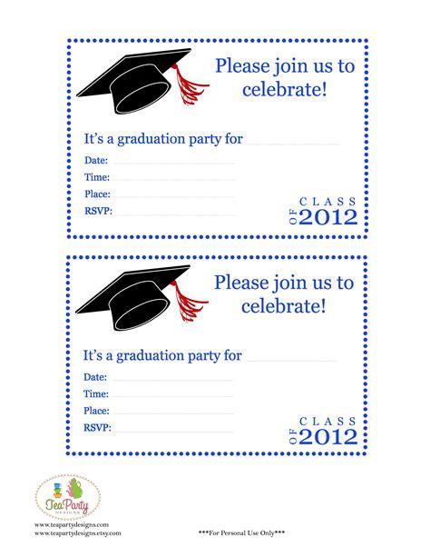 free printable graduation invitation templates free printable diy 2012 graduation banner invitations