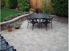 Patio Materials and Surfaces HGTV