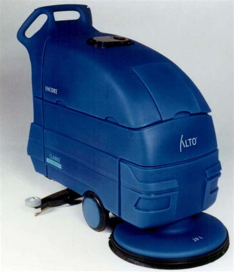 Clarke Floor Buffer Machine by Compact Floor Scrubber Is Offered In 3 Models Alto Us Inc