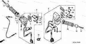 Honda Motorcycle 2003 Oem Parts Diagram For Handle Switch
