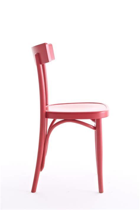 chaise de couleur brera chaise colico en bois massif de hêtre en