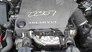 2007 Buick Lacrosse Engine - 3 6l V6 220ci - 022307
