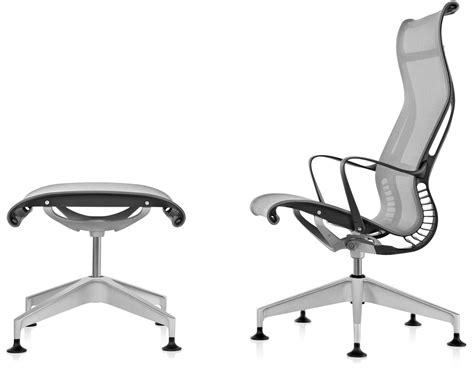 herman miller setu chair used setu lounge chair ottoman hivemodern