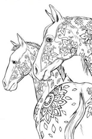 Pin by Ashley Pritchett on Coloring Pages in 2020   Horse